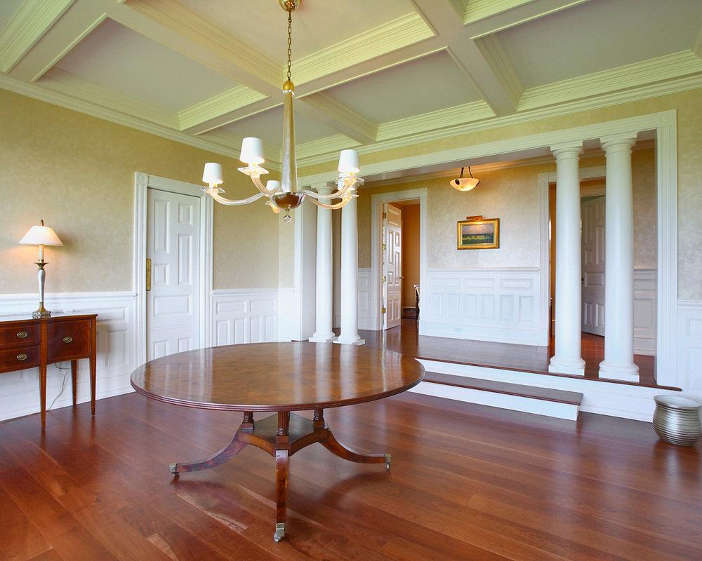 Dining Room of Long Neck Point Custom Homes