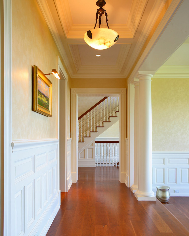 Hall and Stairs - Long Neck Point Custom Homes