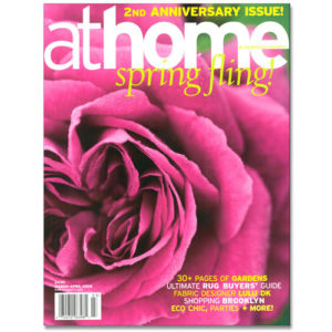 athome Magazine Cover Spring 2008