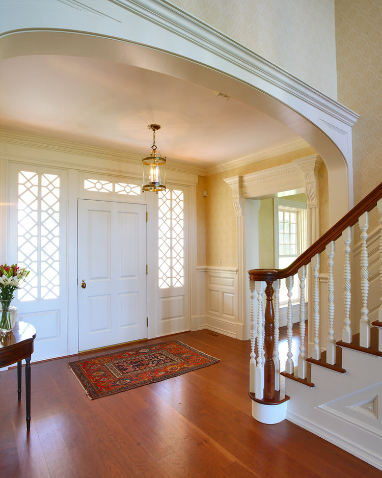 long Neck Point Stairs and Front Door